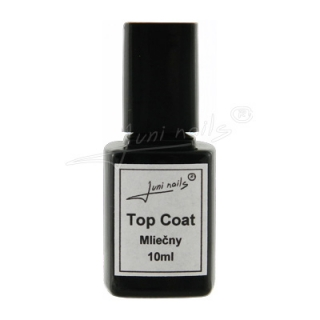 Top Coat Mliečny 10ml