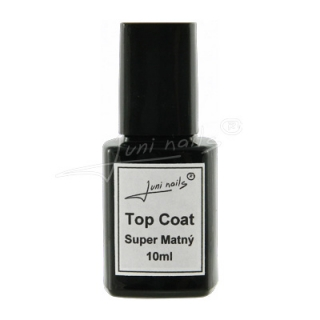 Top Coat Super Matný 10ml